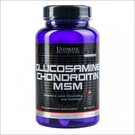 Glucosamine Chondroitin & MSM Ultimate Nutrition, 90 капс.