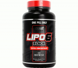 Жиросжигатель Lipo 6 Black Ultra Concentrate Nutrex, 60капс.
